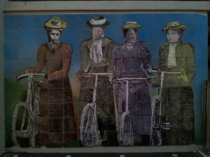 Street art - Women's Suffrage Centenary 1893-1993
