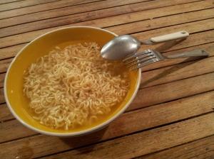 Finit les noodles, à moi la bonne bouffe !