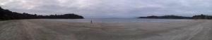 La plage d'Oneroa, l'autre plus belle plage de l'ile...