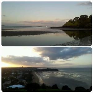Coucher de soleil sur Devonport...