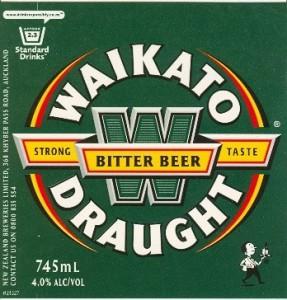 La bière du District de Waikato
