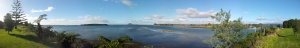 Le Munt Maunganui en fond...