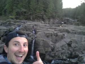 Selfie pour vous montrer que tout va bien ici ! ;-)