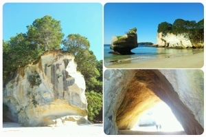 Cathedral Cove, juste magnifique.