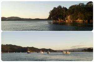 A bord du ferry...