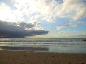 La plage de Kuaotunu. Sympa !