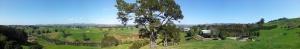 Vue panoramique depuis l'exploitation