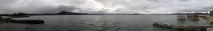 Panoramique sur le lac...