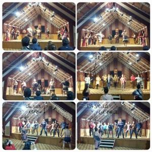 Le folklore maori !