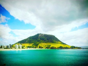 The Mount, vu depuis Papamoa Beach