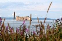 Rocher-Percé depuis l'île