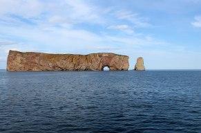 Rocher-Percé depuis le bateau